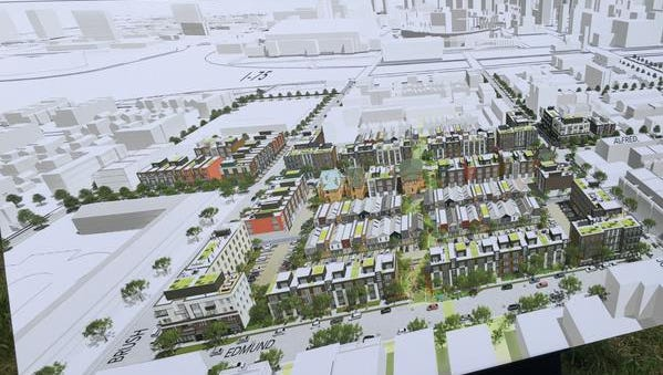 Dan Gilbert wants to add a ton of new housing to Brush Park, currently a neighborhood full of mostly empty lots.