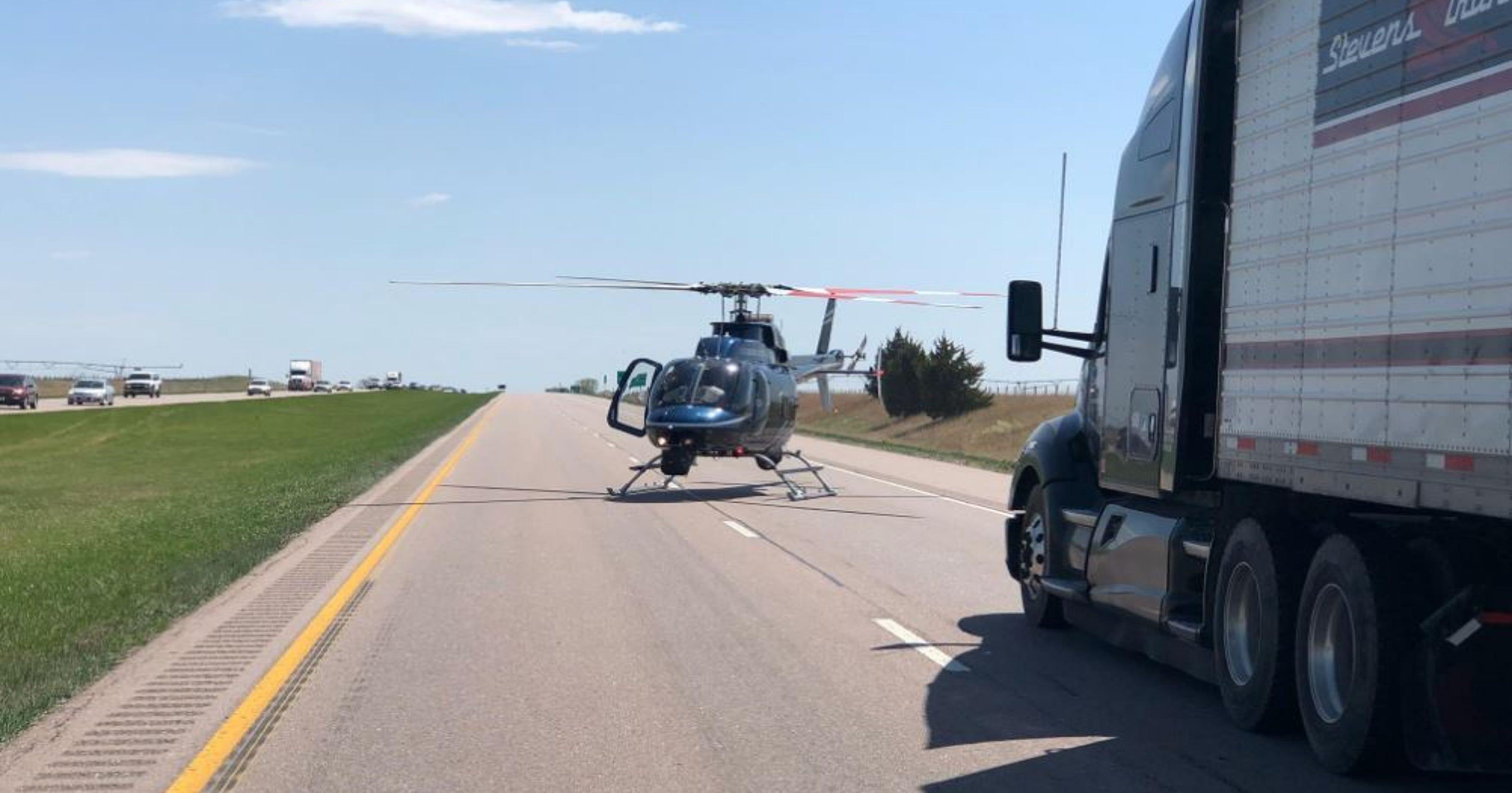 Four Iowans killed in crash near Milford, Nebraska, on Interstate 80