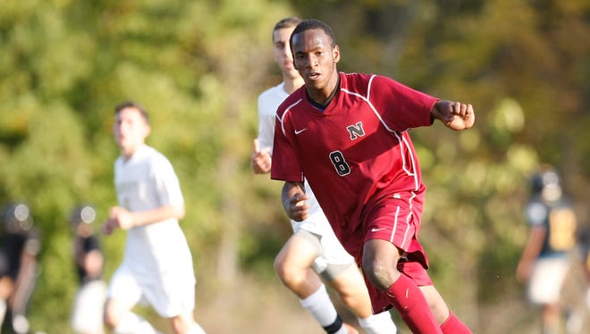 Nyack defeats Nanuet 5-4 in penalty kicks after a 1-1 tie in regulation during a boys soccer game at Nanuet High School on Wednesday, Oct. 21, 2015.