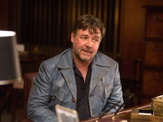 """Russell Crowe in """"The Nice Guys."""""""
