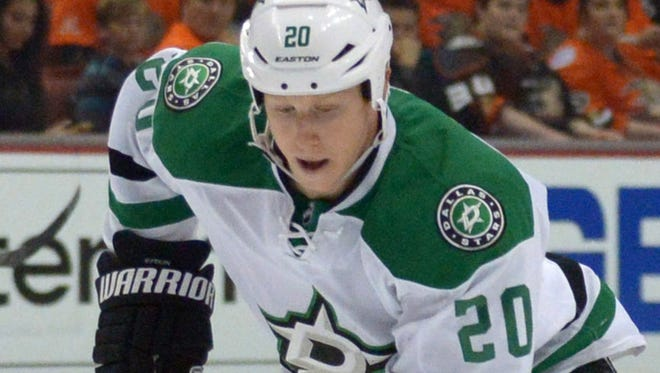 Dallas Stars center Cody Eakin ranked third among team forwards in average ice time.