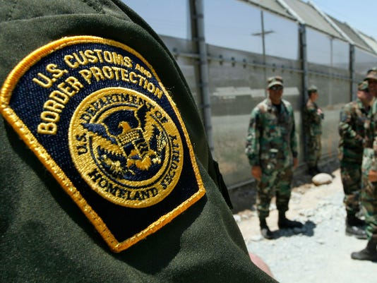 AP IMMIGRATION NATIONAL GUARD A USA CA