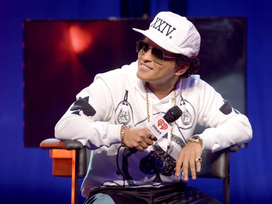 Bruno Mars iHeartRadio Album Preview At The iHeartRadio Theater