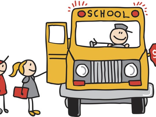 Waiting for a school bus to load can test one's patience.