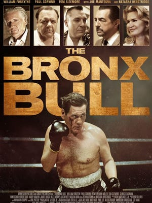 "The movie poster for ""The Bronx Bull"""
