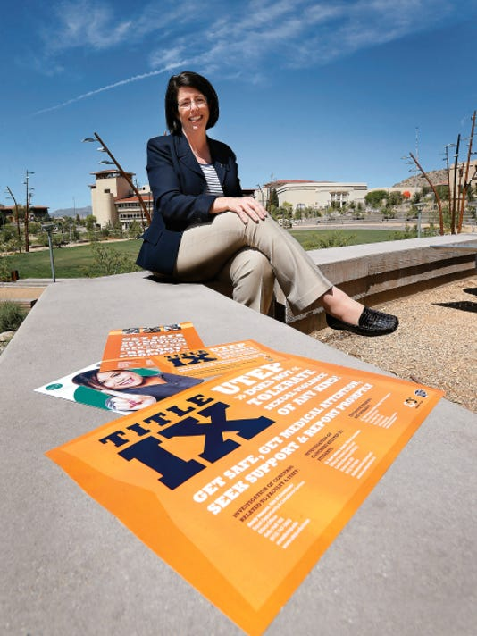 UTEP Dean of Students Catie McCorry-Andalis will lead a sexual assault study on the campus spanning a four-year period.