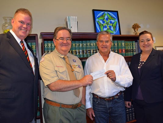Donation to BSA