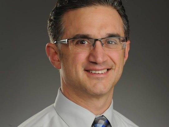 Nicholas Tampio of Mamaroneck, who teaches political