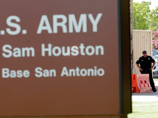 AP Fort Sam Houston Shooting