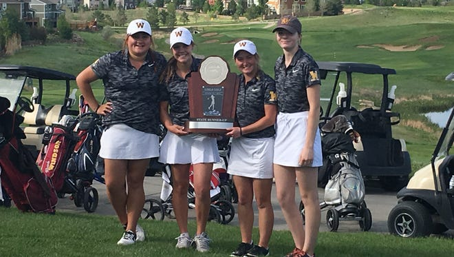 The Windsor High School girls golf team finished second at the Class 4A state tournament in Erie.