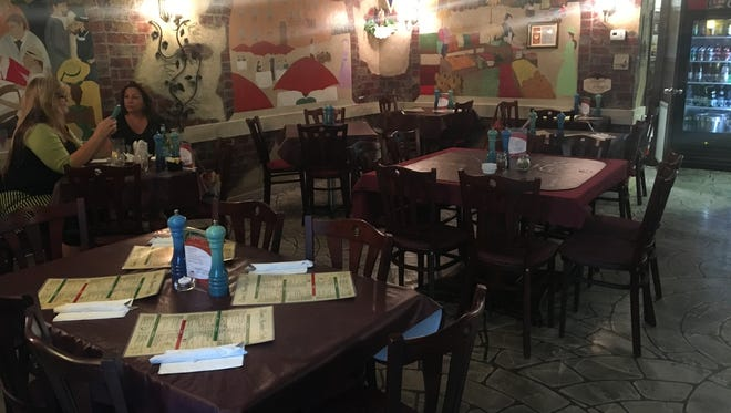 With just 12 tables, Buon Appetito Cafe offers lunch and dinner in an intimate setting.
