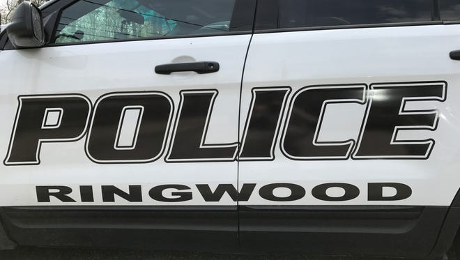 A Ringwood Borough police vehicle sits idle on April 29, 2017.