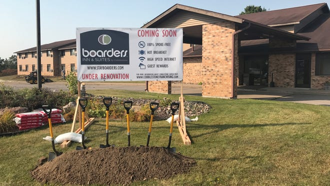 The Badger Hotel in Merrill will become a Boarders Inn & Suites.