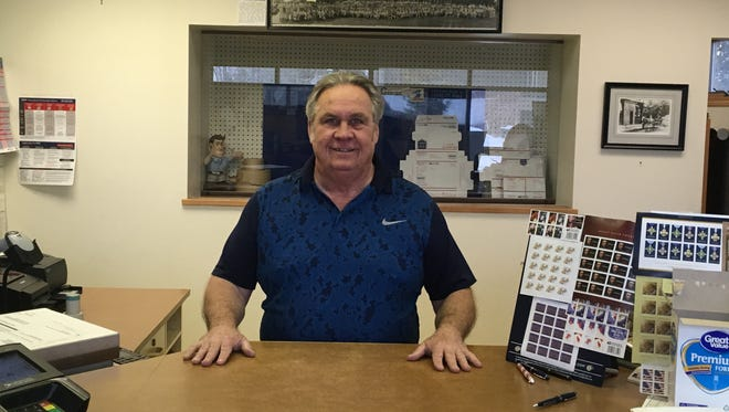 Patrick Hellen retired Jan. 31 after 39 years with the U.S. Postal Service, the last 23 as postmaster in Baileys Harbor..