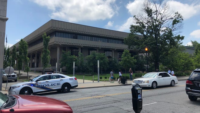 The main branch of the Louisville Free Public Library was evacuated Friday afternoon due to a possible bomb threat.