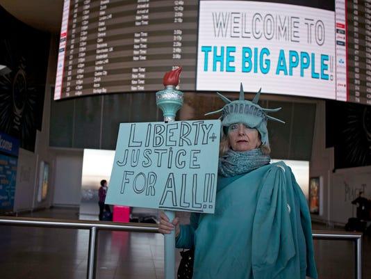 EPA USA MIGRATION NEW YORK MUSLIM BAN POL GOVERNMENT CITIZENS INITIATIVE & RECALL USA NY