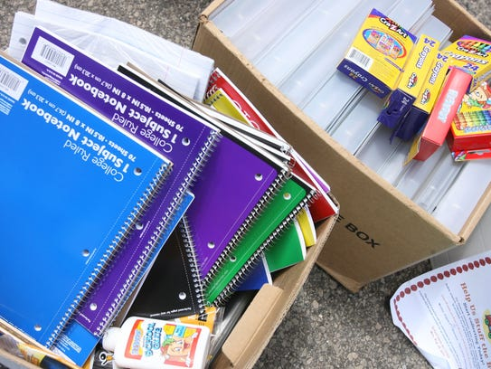 The second annual CASA Back to School supply drive