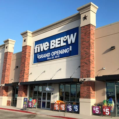 Five Below will have its grand opening on Friday.