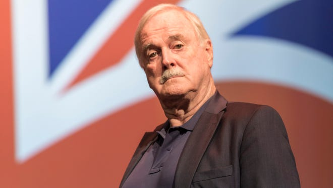 """John Cleese is best known for his work in legendary comedies like """"Monty Python and the Holy Grail,"""" """"Life of Brian,"""" """"A Fish Called Wanda,"""" and """"Fawlty Towers."""""""
