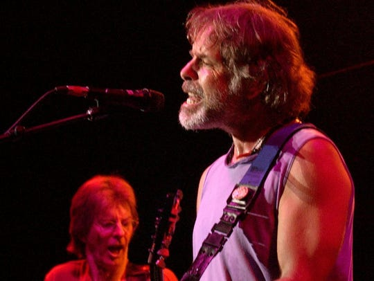 Bob Weir (right) and Phil Lesh at Alpine Valley Music