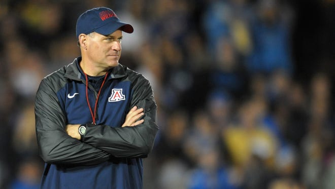 The media isn't giving Rich Rodriguez's team much of a chance in the Pac-12 South this season.