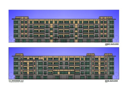 A rendition of the River East Flats, from S.C. Swiderski.