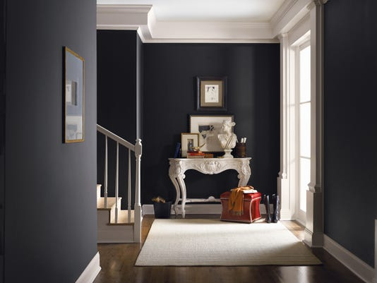 Entry Way, Courtesy of Sherwin-Williams
