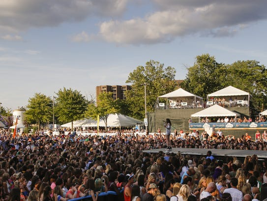 Lansing's downtown riverfront area will see new development through help of a $1 million match by the Capital Region Community Foundation to private donors. This area sees the most action during the annual Common Ground Music Festival.