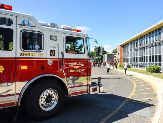 The Vineland Fire Department responded to an alarm
