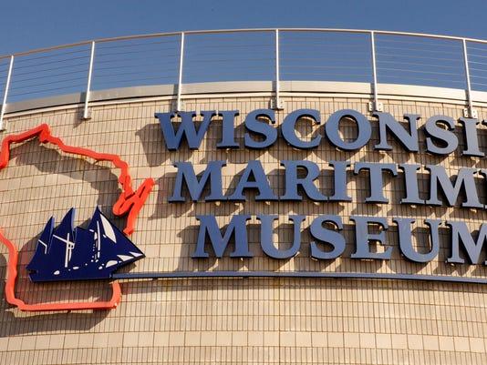 Wisconsin Maritime Museum sign 1