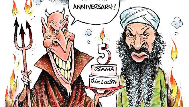 Bin Laden gone 5 years