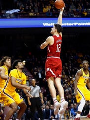 Waukee native Michael Jacobson transferred to Iowa State after starting his career at Nebraska. He'll start playing for the Cyclones in games in 2018-19.