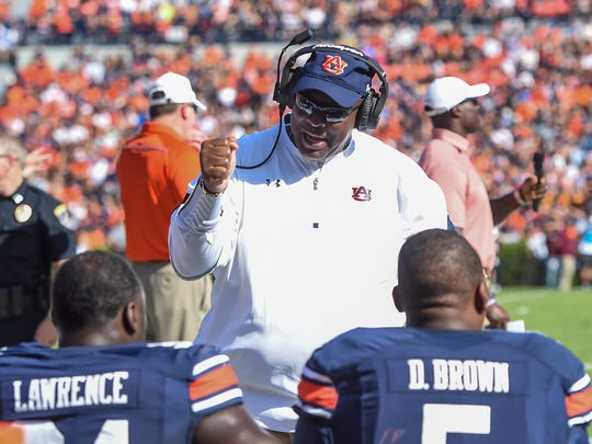 Auburn defensive line coach Rodney Garner has put together arguably the nation's top defensive line.