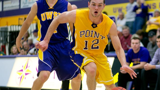Senior Stephen Pelkofer (12) will be one of the experienced returning players counted on to help the University of Wisconsin-Stevens Point compete for championships again this season.