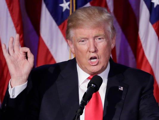 AP 2016 ELECTION TRUMP A ELN USA NY