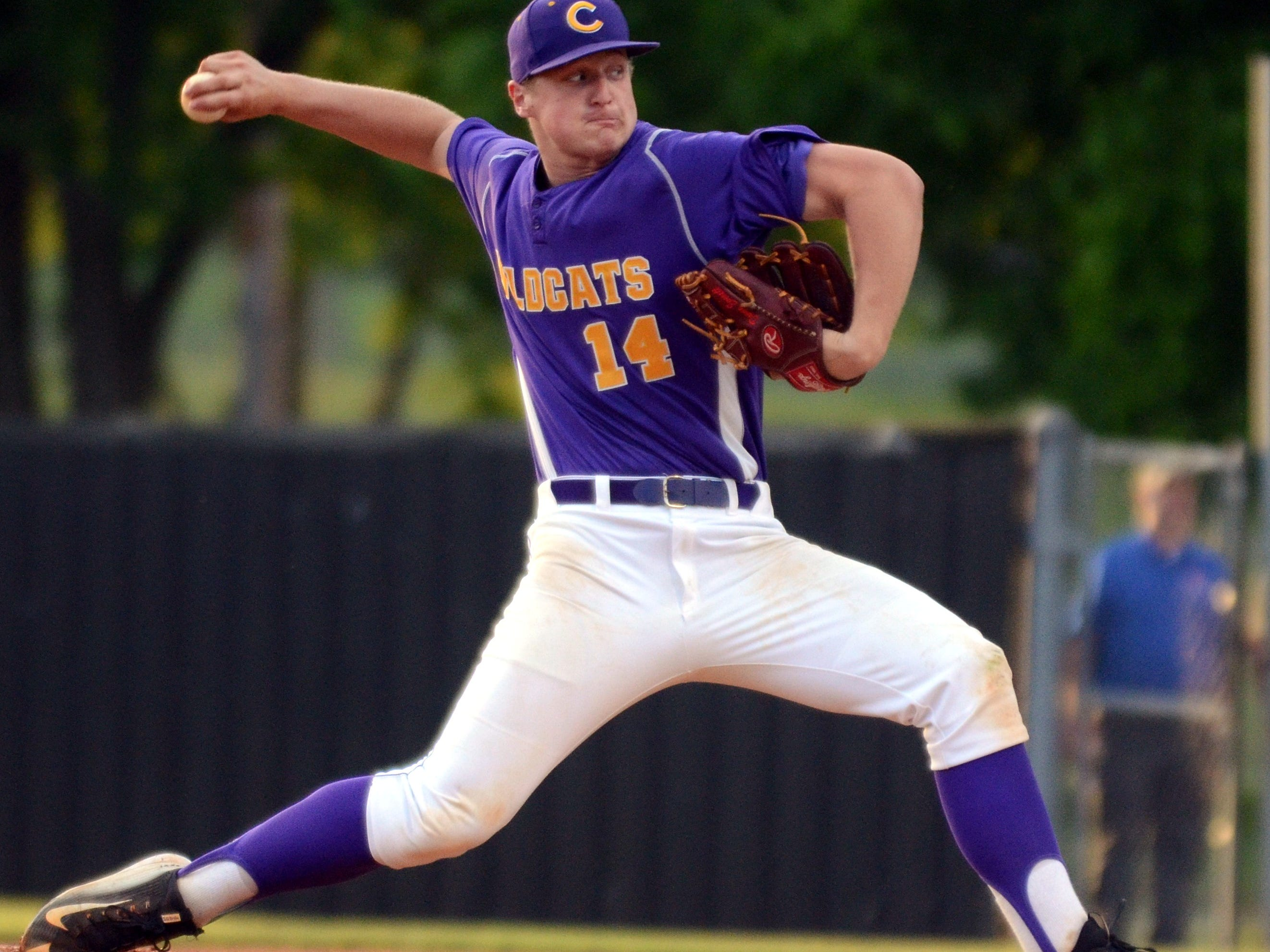Clarksville pitcher and Vanderbilt signee Donny Everett was 9-1 with a 0.93 ERA and a pair of saves last season.