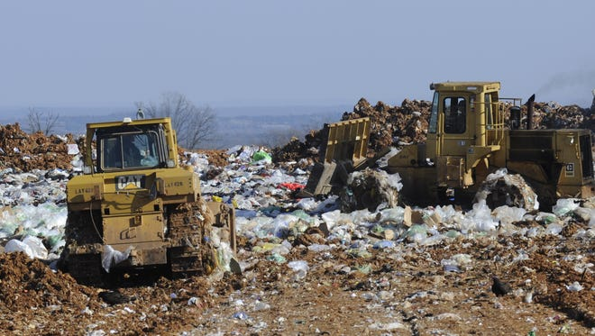 The NABORS landfill, shown in this 2014 file photo,  has been the subject of lawsuits and financial strain since it ceased operations in 2012. The state is currently looking to close the landfill.