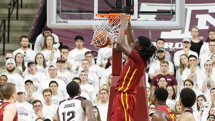 Jameel McKay and Iowa State lost at Texas A&M over the weekend, but they're still on a four-game run in the Big 12 Conference.