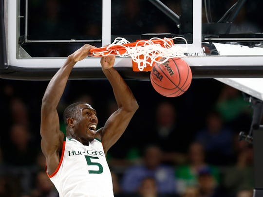 Miami's Davon Reed is back to give the Hurricanes a backbone.