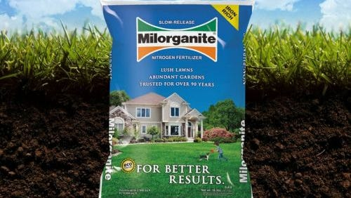 Milwaukee's own Milorganite. Technically it's not poop in a bag.