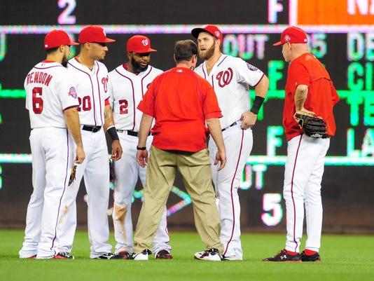 USP MLB: TAMPA BAY RAYS AT WASHINGTON NATIONALS S BBN USA DC