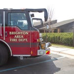 The Brighton Area Fire Department responded to a 911 call about smoke in the Brighton District Library at 100 Library Drive around 1:30 p.m. Wednesday. Fire officials said someone set toilet paper roll and toilet paper on fire.
