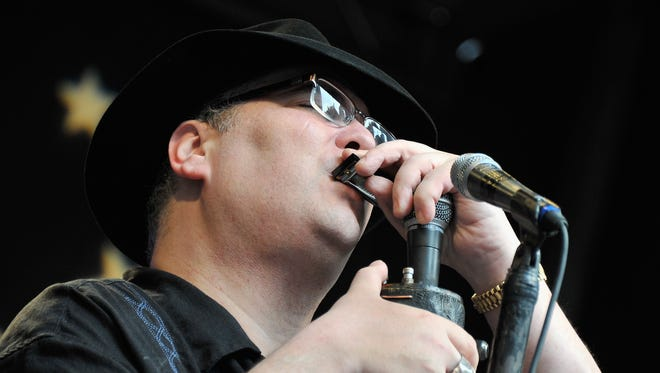 Blues Traveler's John Popper will break out the harmonica for a free concert Sept. 9 outside Lambeau Field for Weekend Kickoff, a celebration of the Green Bay Packers new season.