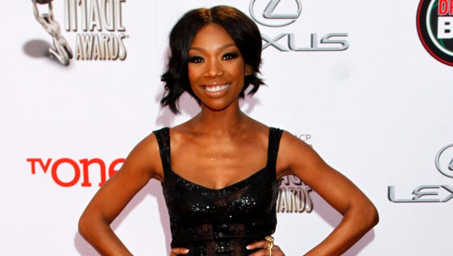Singer Brandy Norwood