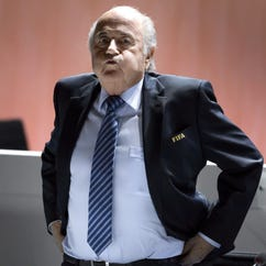 FIFA suspended Sepp Blatter for 90 days.