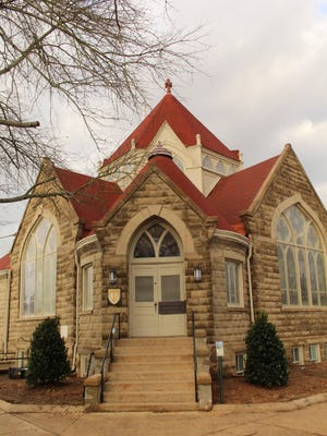 Members of Selma's Blue Jean Church are completing renovation work on what once was the First Christian Church, built in 1906.