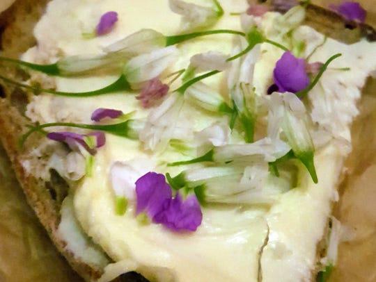 Chef Garrett Lipar's sourdough bread with cultured
