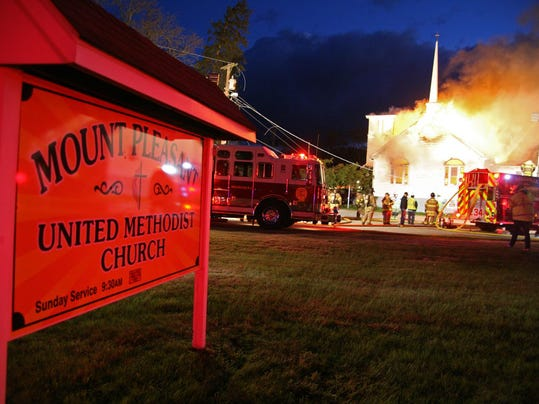 Mount Pleasant fire