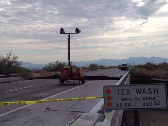 The bridge that collapsed on I-10.