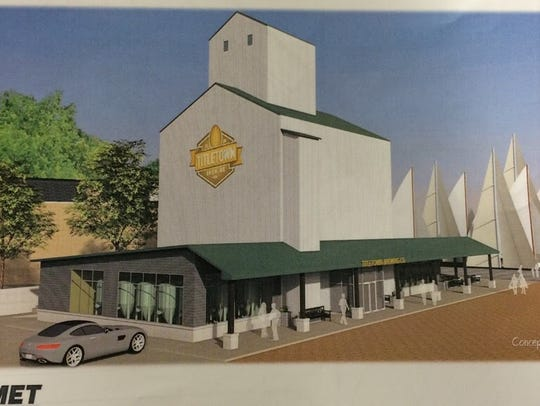 The renderings for the micro-brewery by Smet Construction